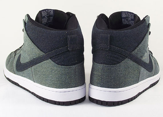 official photos 943c6 496c6 Nike SB Dunk High Pro Midnight Navy Obsidian Denim